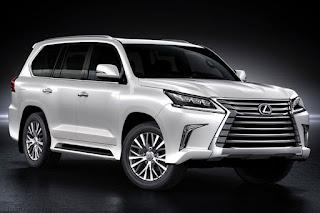 Mobil Idaman Lexus LX570