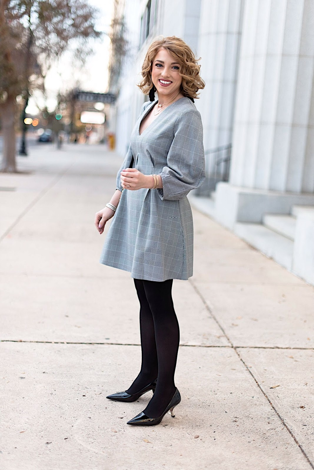 The perfect winter everything dress - Something Delightful Blog