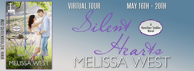 (Excerpt | Giveaway} Silent Hearts (Hamilton Stables #3) – Melissa West