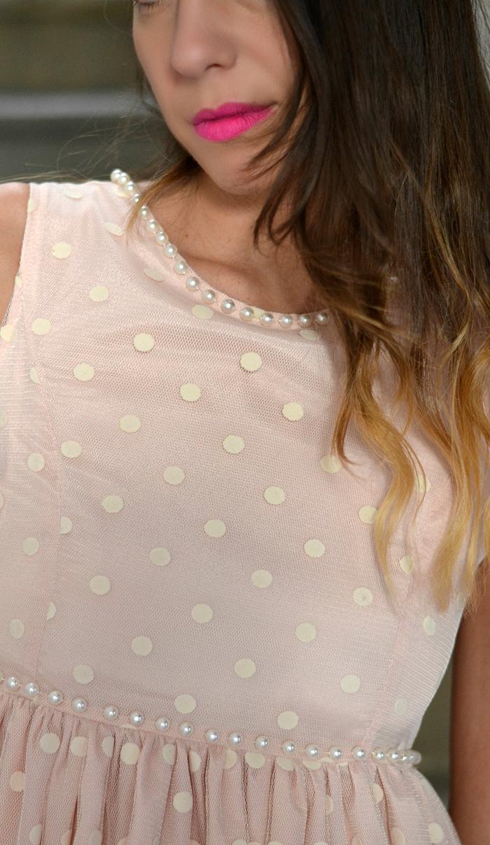 abito dettaglio perle