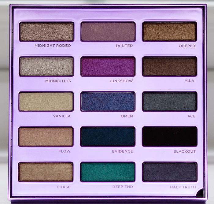 Makeupsecrets93 review palette urban decay 15th anniversary - Riflessi in uno specchio scuro ...