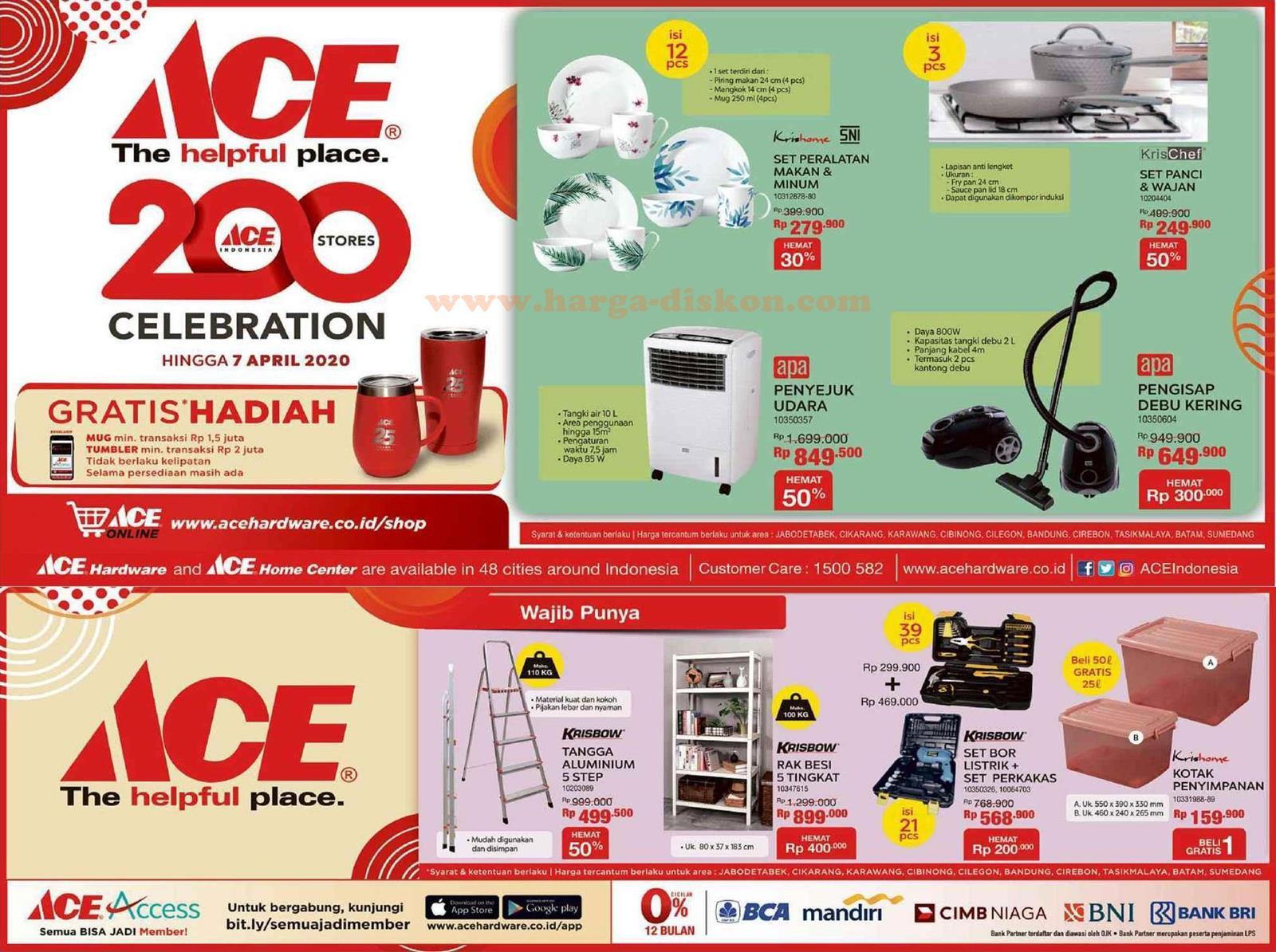 Promo Ace Hardware Terbaru Ace Celebration Hingga 7 April 2020 Harga Diskon