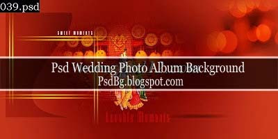Psd Wedding Photo Album Background Download
