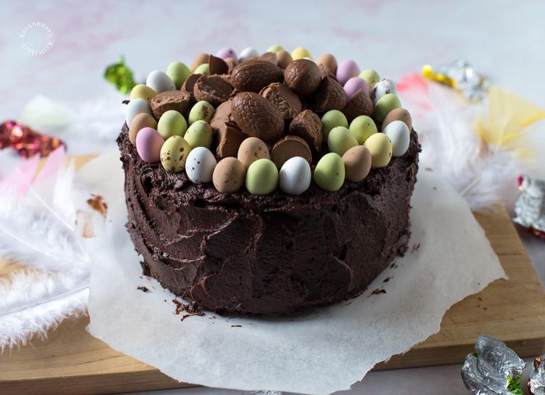 Chocolateless Chocolate Cake