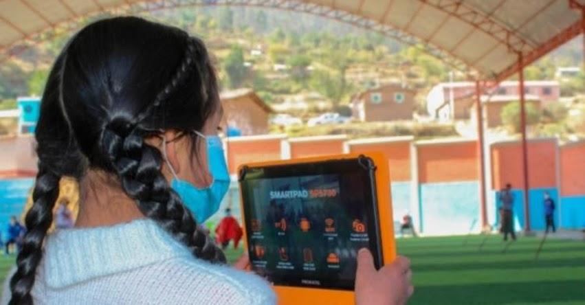 APRENDO EN CASA: Ministerio de Educación pone en marcha en Apurímac plan piloto con internet satelital