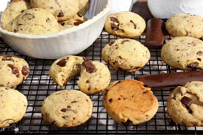 Pieguski, czyli najłatwiejsze ciasteczka z czekoladą