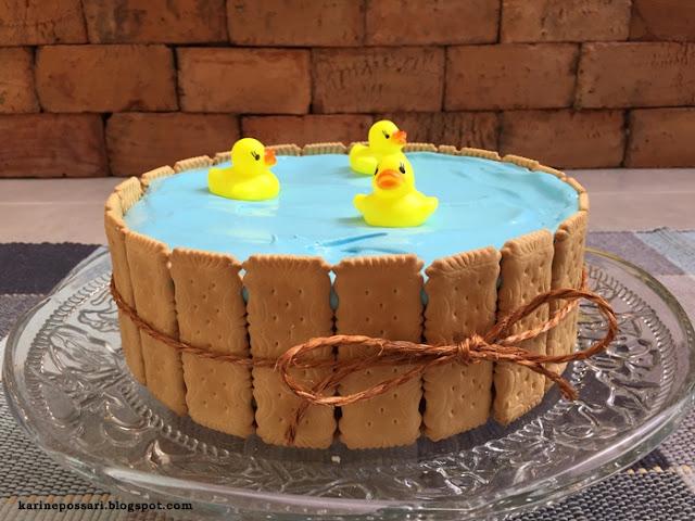 bolo para festa Hora do Banho