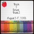 Back 2 School Bash 2: Blogger Sign Ups!