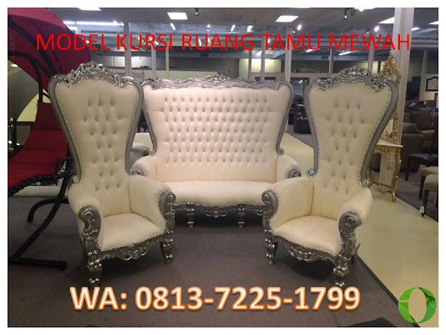 model kursi ruang tamu mewah 2