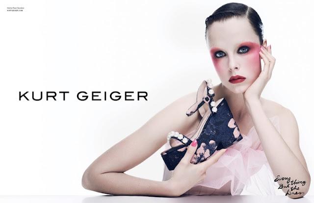 Kurt Geiger Spring 2017 Campaign