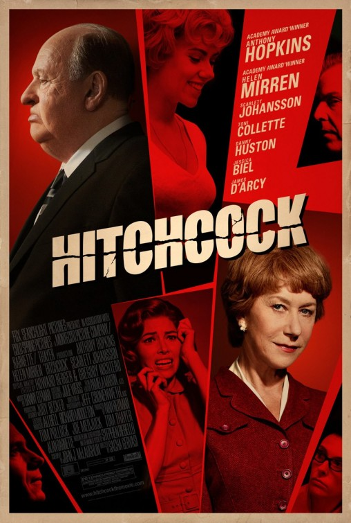 Hitchcock 2012 movie poster