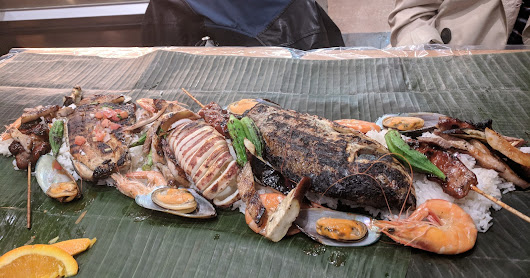 Eating OFF the Hill: Boodle fight at Tinuno
