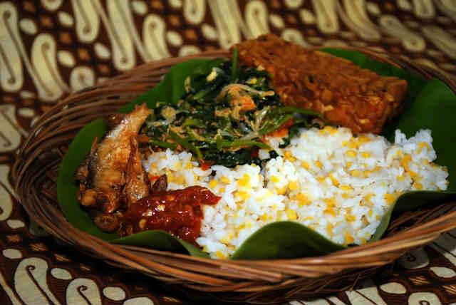 resep nasi jagung makanan khas madura lengkap  lauknya county food Resepi Nasi Jagung Enak dan Mudah