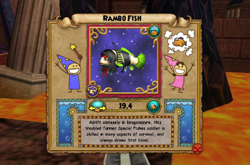 Wizard101 Dragonspyre Fish School, Location, XP, Rank, and