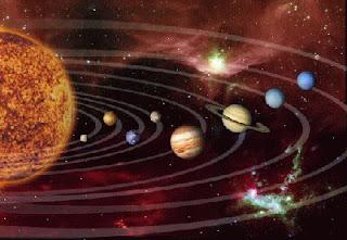 Susunan dan Bagian-bagian Tata Surya Serta Benda-benda Langit Lainnya
