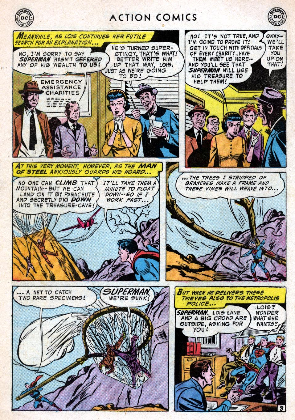 Read online Action Comics (1938) comic -  Issue #219 - 10