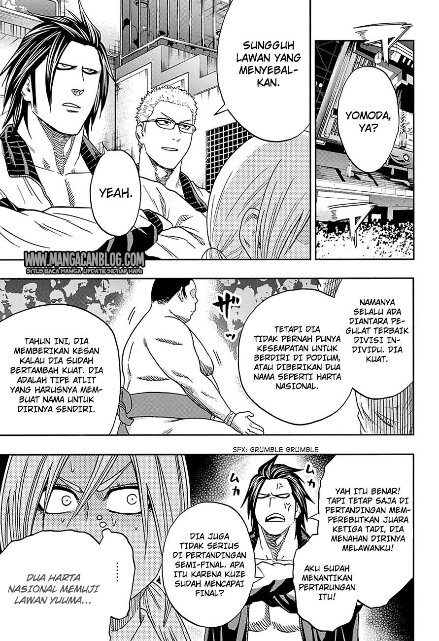 Hinomaru Zumou Chapter 140-8