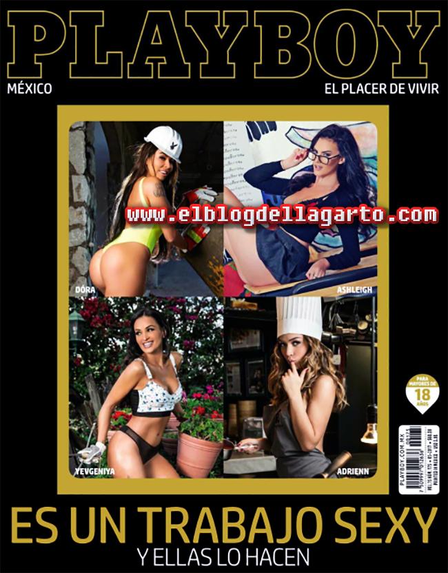 Playboy Mexico -  Es un Trabajo Sexy