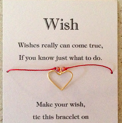 Heart charm wish bracelet by Lisa Yang Jewelry