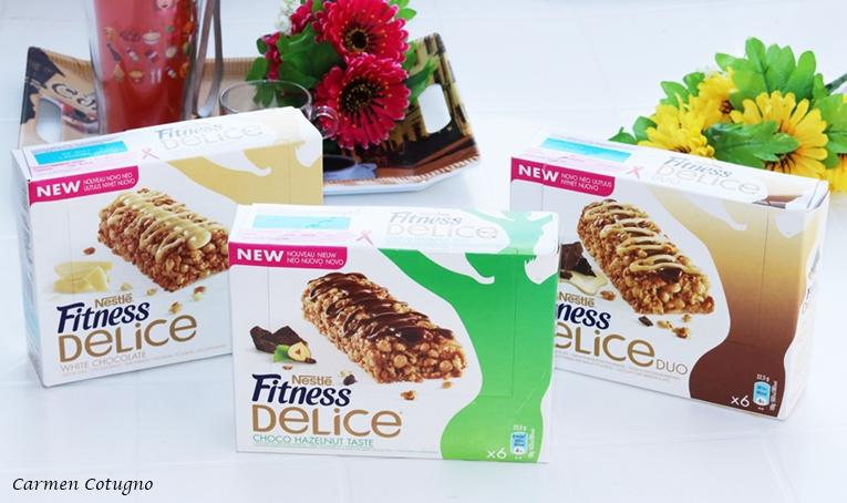 Le barrette Nestlé Fitness Delice