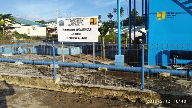 Dua Tahun Air Tak Jalan, Proyek SPAM Watutumou Mubasir