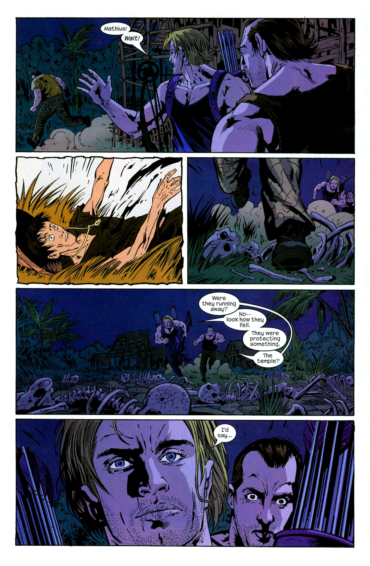 Hawkeye (2003) Issue #5 #5 - English 16