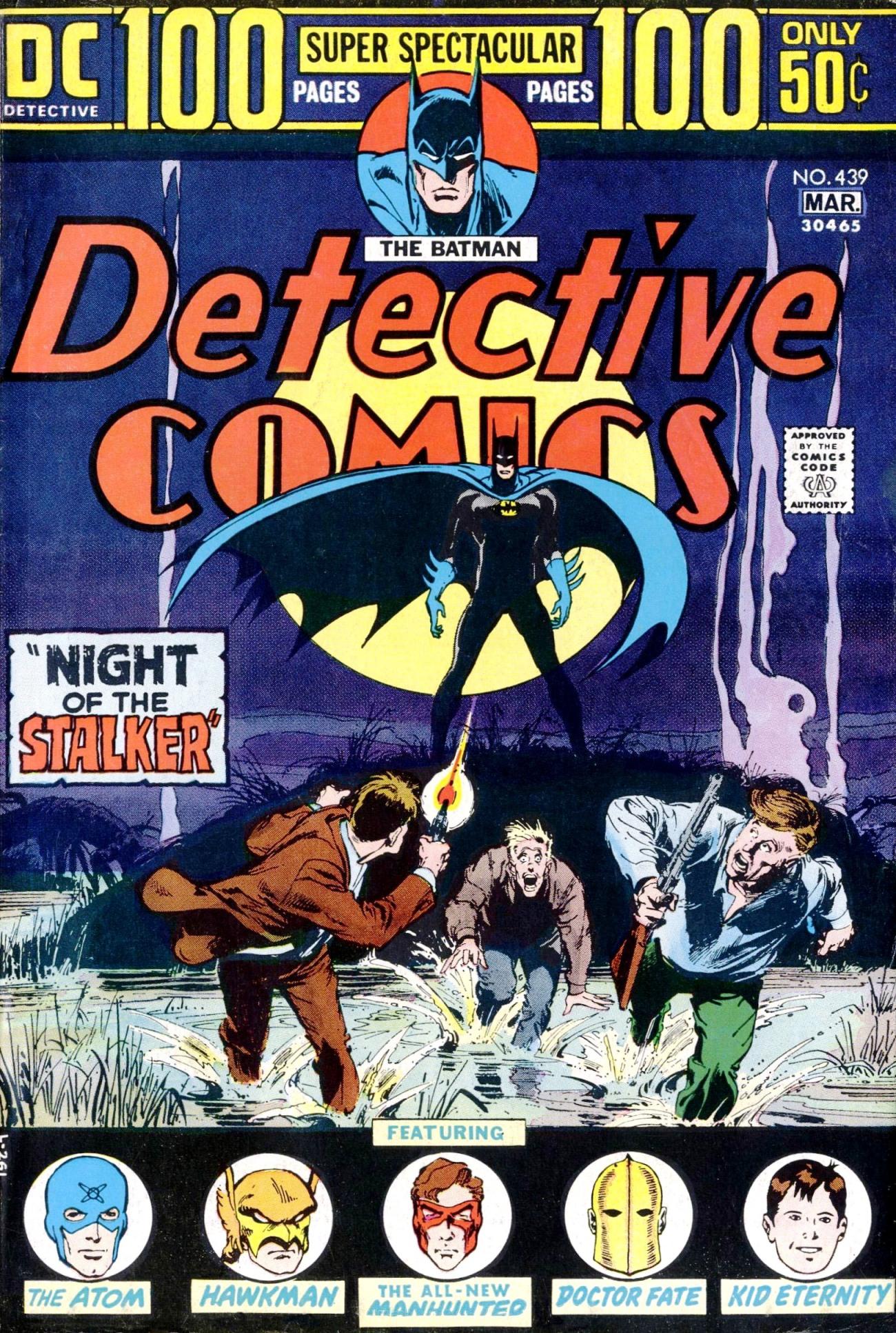 Detective Comics (1937) 439 Page 1