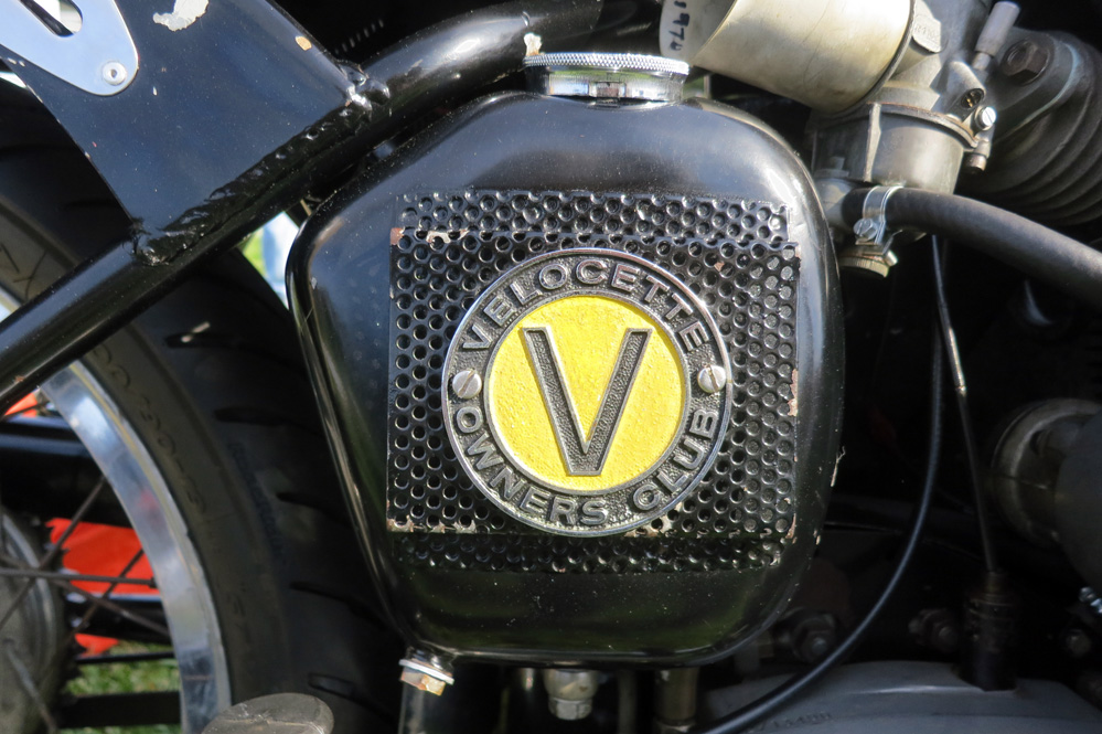 Velocette motorcycle.