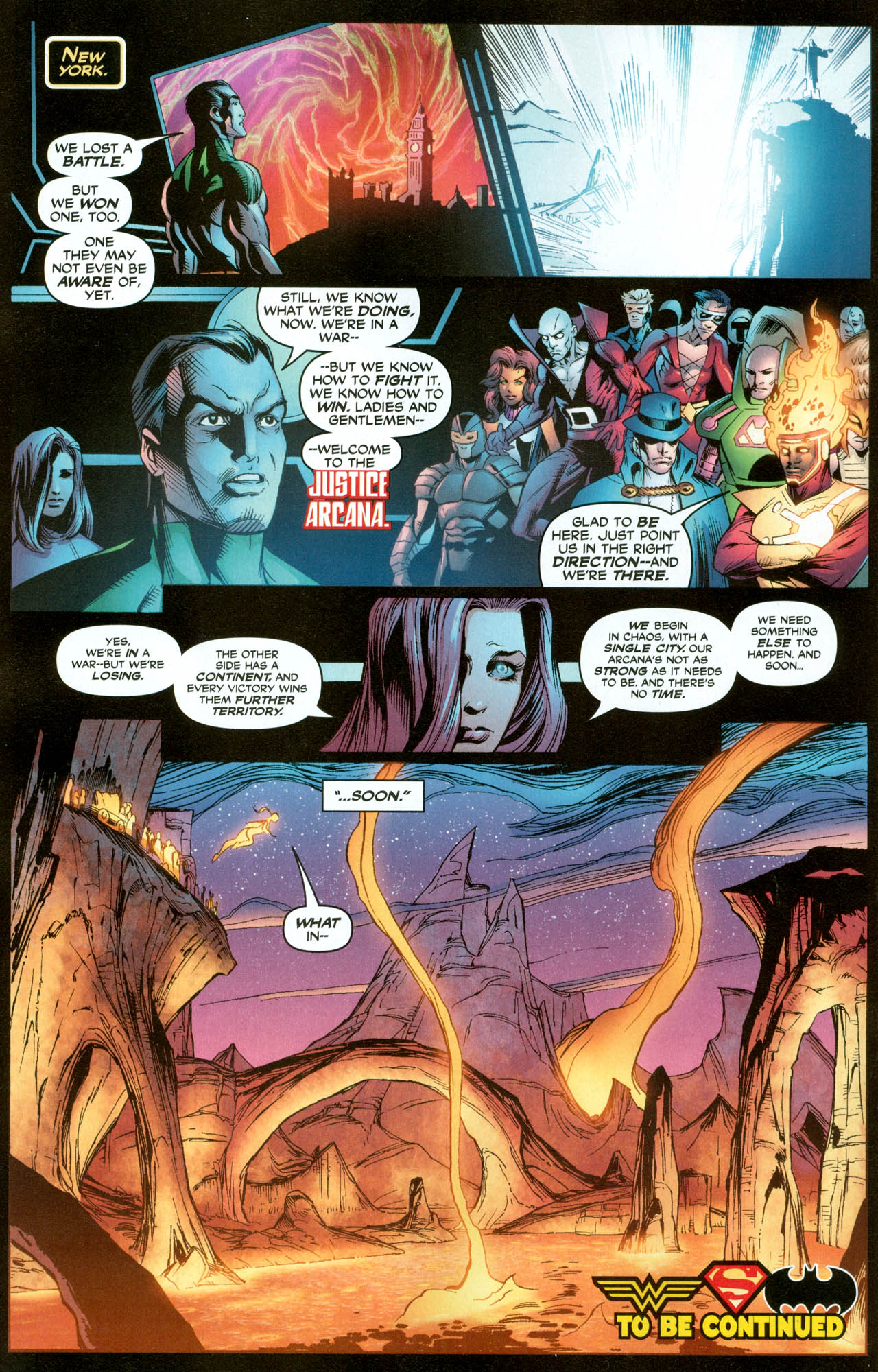 Read online Trinity (2008) comic -  Issue #31 - 17