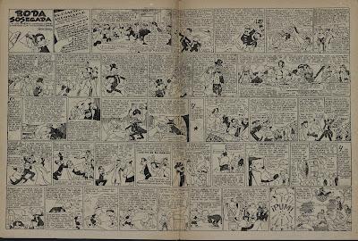 Boda Sosegada, con el enlace de Cifré y muchos invitados, Pulgarcito nº 14 (1947)