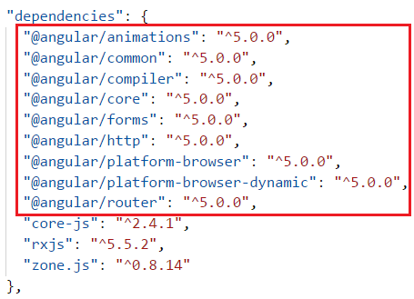 how to check angular project version