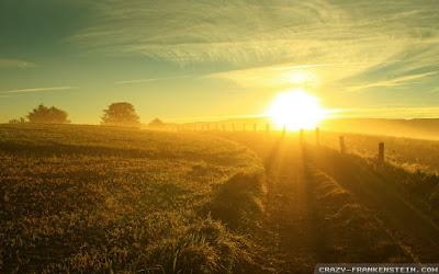 Gambar Matahari Pagi saat Terbit Siang dan Sore Saat