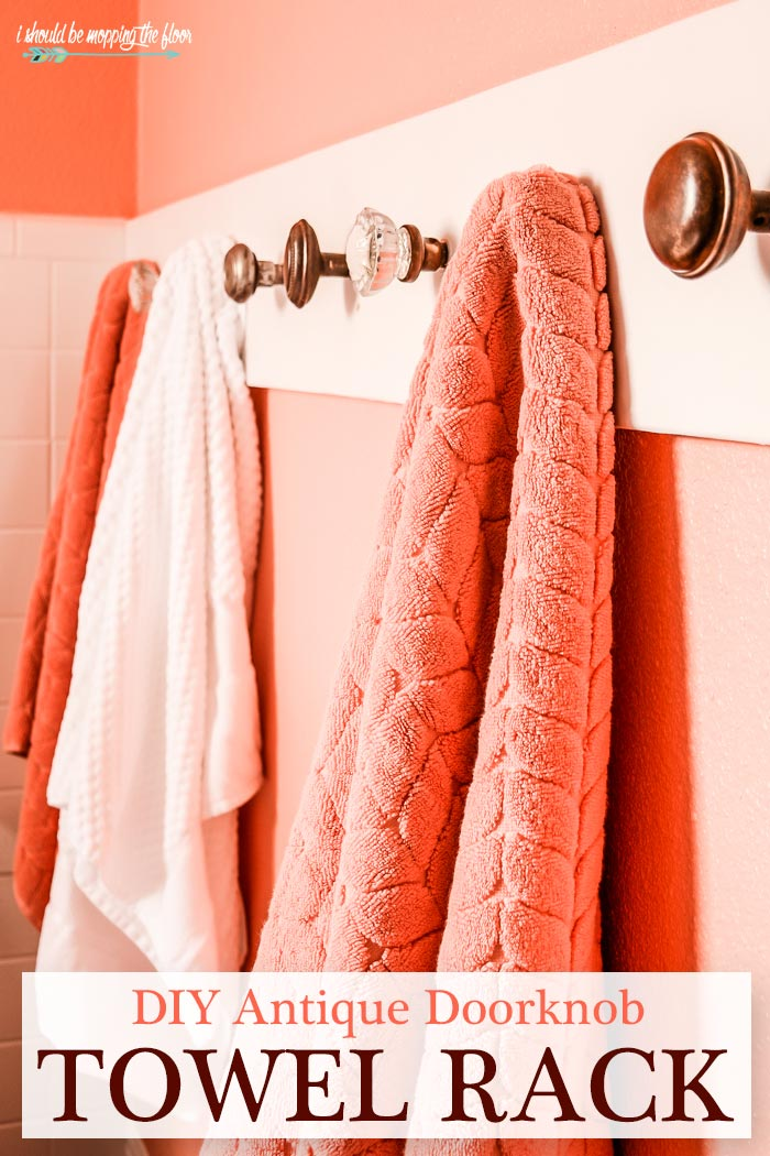 Vintage Towel Rack