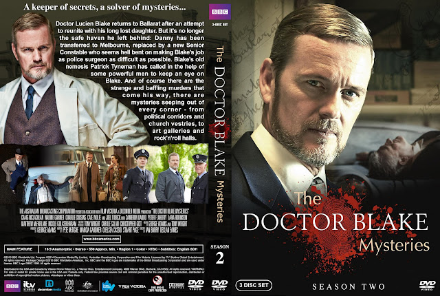 The Doctor Blake Mysteries - Season 2 DVD Cover