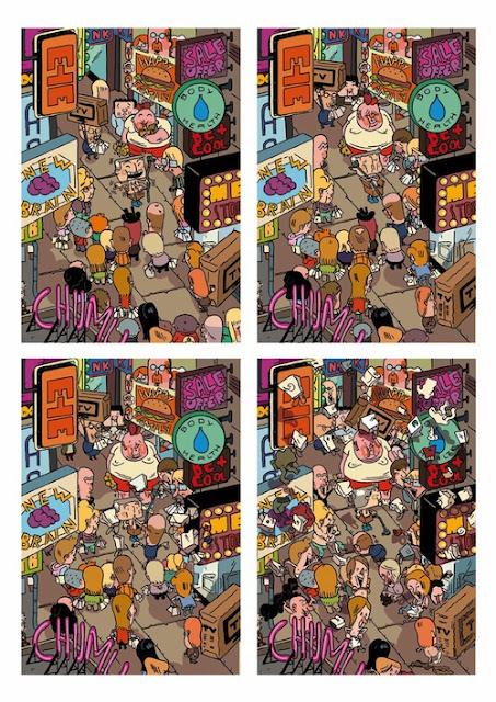 """""""Aventuras de un oficinista japonés"""" (José Domingo, Bang Ediciones)"""