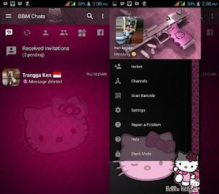 Bbm Hello Kity Terbaru v3.2.5.12 Apk