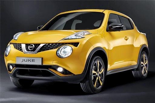 nissan juke facelift 2015