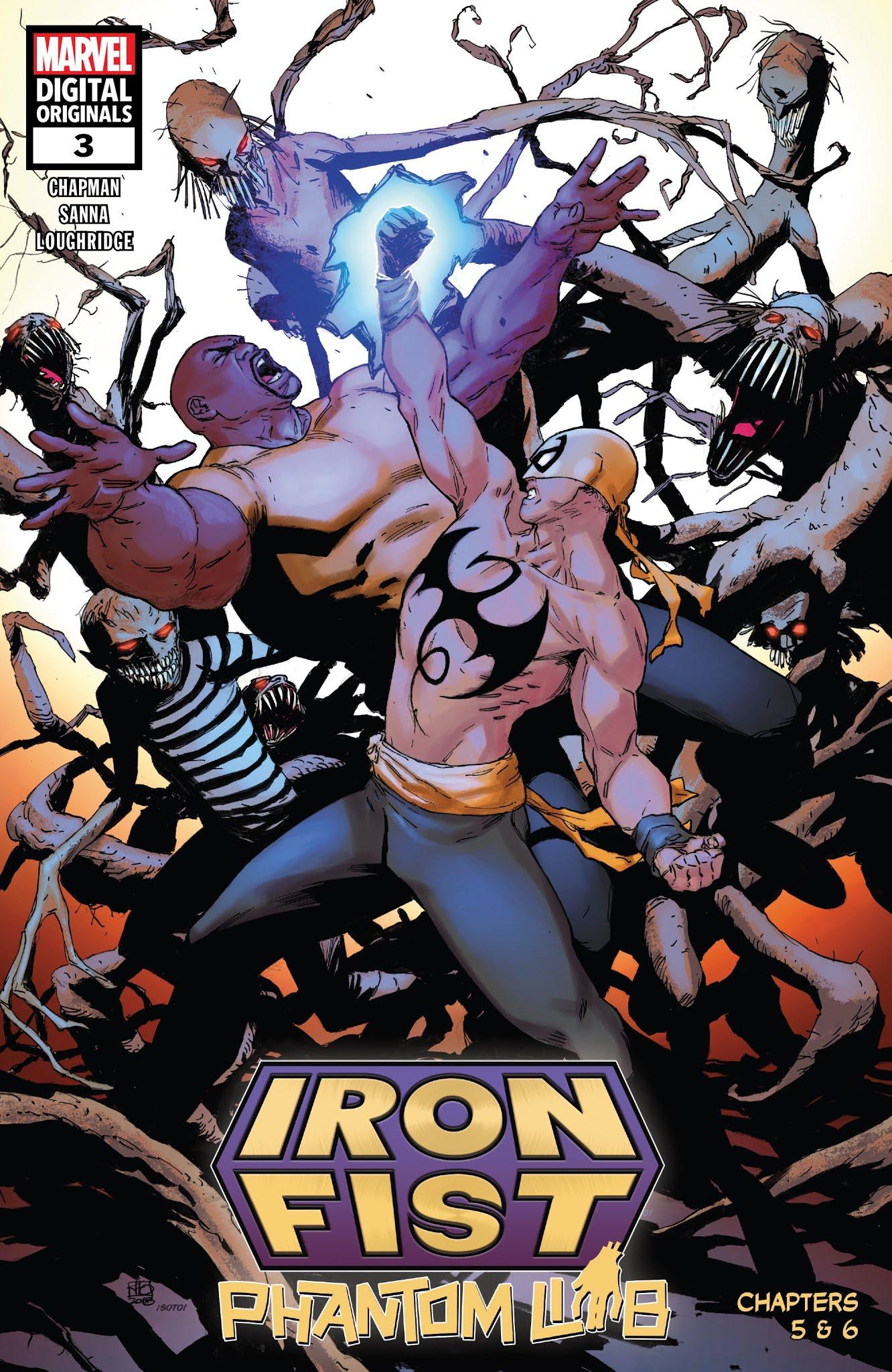 Iron Fist (2018) 3 Page 1