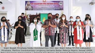 Wabup Robby Dondokambey: Pengucapan Syukur adalah Kearifan Lokal sebagai Penghormatan kepada Tuhan