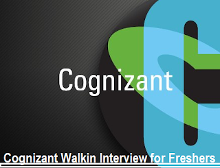 Cognizant BPS is Hiring for Entry Level Role: Freshers On 22nd Dec, 2016