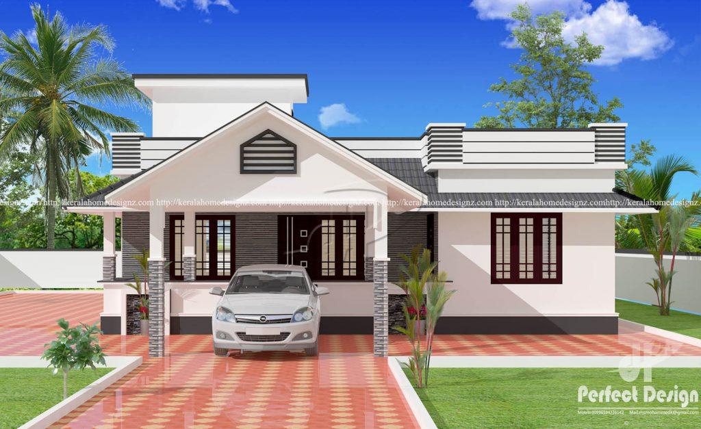 MyHousePlanShop: Three Bedroom Single Story Kerala House ...