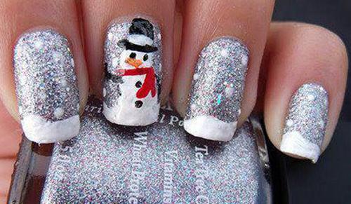 Lindisima Blog Diseños De Uñas Para Navidad