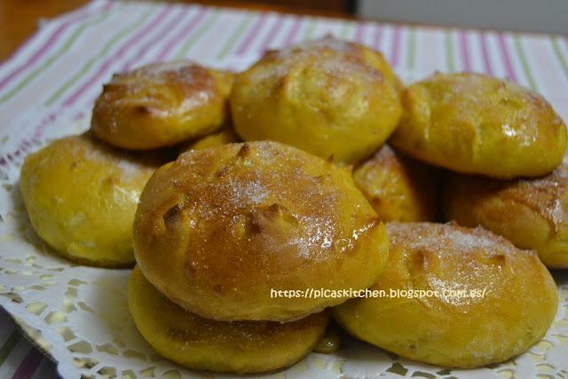 TORTAS DE CALABAZA Y PIÑONES típicas de Callosa del Segura