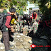TNI Koramil 0821/18 Tempursari Laksanakan Karya Bakti Libatkan Saka Wira Kartika