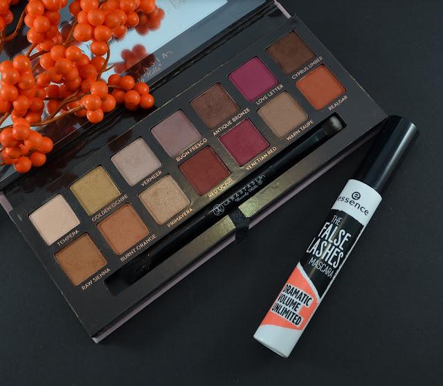 Herbst-Favoriten Lidschatten und Mascara