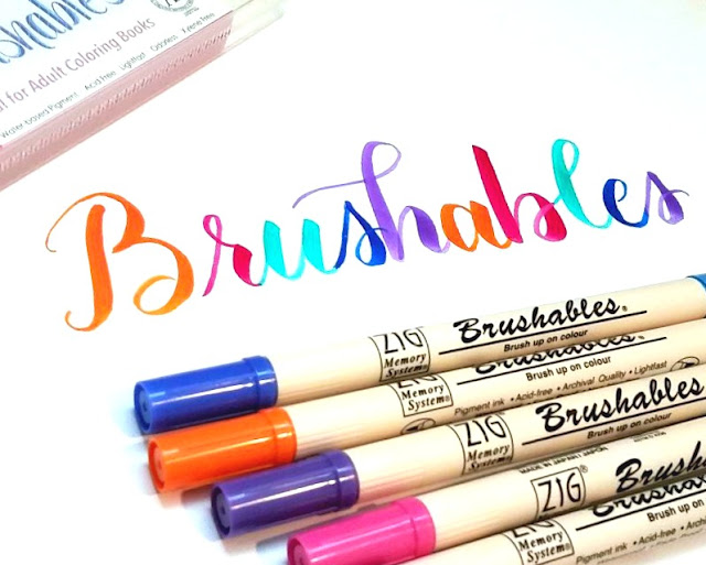 The best markers for brush lettering