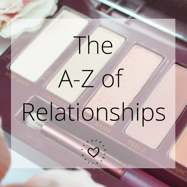 A-Z of Dating / Romance, Lovelaughslipstick Blog
