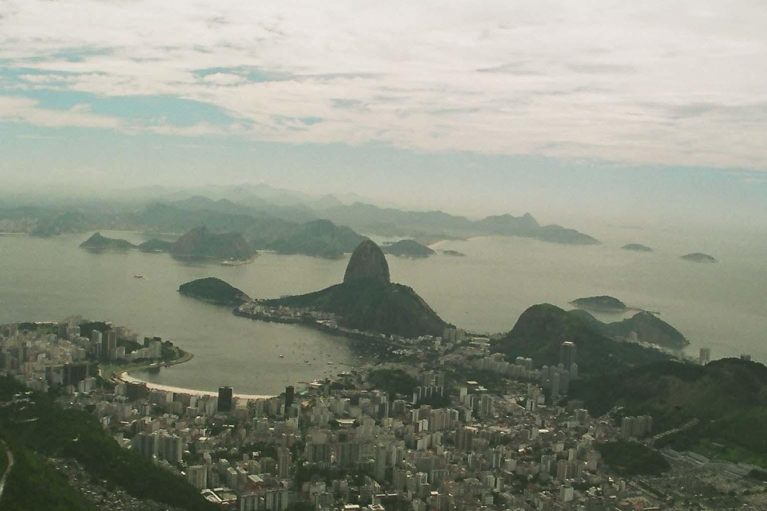 Harbour Of Rio De Janeiro Brazil View World Beauty