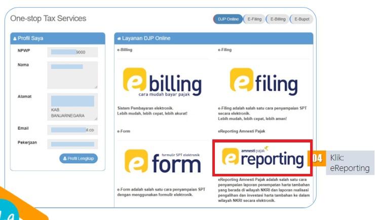 Cara Mengaktifkan E Reporting Djp Online Efaktur Dan Espt