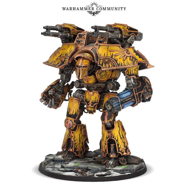 Warlord Titan Plasma Sunfury Annihilator